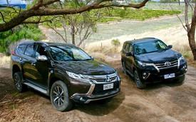 Mitsubishi Pajero Sport lần đầu hạ Toyota Fortuner với doanh số cao gấp 6 lần