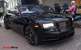 Cận cảnh Rolls-Royce Wraith Black Badge độc nhất Việt Nam đi làm đẹp chơi Tết