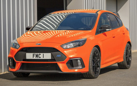 Ford Focus RS thêm bản giới hạn 50 chiếc trước khi bị loại khỏi dây chuyền sản xuất