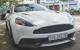 Aston Martin Vanquish Carbon Edition tái xuất trên phố Sài Gòn dịp Tết