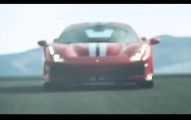 """""""Siêu ngựa"""" Ferrari 488 GTO lộ diện trong video mới"""