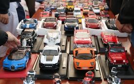 Thoả đam mê siêu xe với thú chơi mô hình thu nhỏ