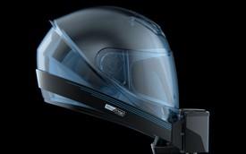 Mũ bảo hiểm có điều hoà nhiệt độ cho biker sợ nóng và ngột ngạt