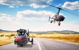 Xe bay thương mại đầu tiên trên thế giới sắp trình làng