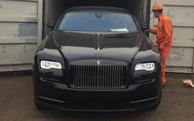 Siêu phẩm Rolls-Royce Wraith Black Badge đầu tiên về Việt Nam