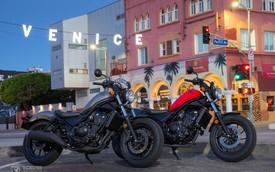 Rebel 300 ABS giá 125 triệu đồng - Cơ hội lớn của Honda Việt Nam