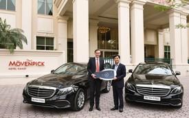 Khách sạn tại Hà Nội mạnh tay sắm bộ đôi Mercedes-Benz E200