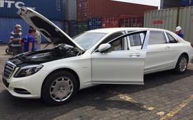 Limousine siêu sang Mercedes-Maybach S600 Pullman đầu tiên về Việt Nam