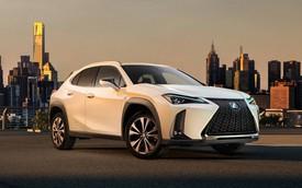 Crossover cỡ nhỏ Lexus UX chính thức được hé lộ những hình ảnh đầu tiên