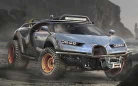 Khi siêu xe bị biến thành xe off-road hạng nặng