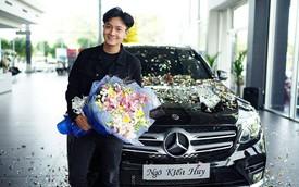 Ngô Kiến Huy mua Mercedes-Benz GLC300 hơn 2 tỷ đồng