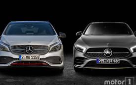 Cách phân biệt Mercedes-Benz A-Class thế hệ mới với phiên bản cũ