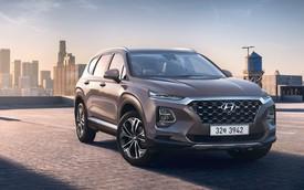 Hyundai công bố ảnh thực tế và chốt lịch ra mắt Santa Fe 2019