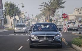 Xe Mercedes-Benz sẽ được dùng làm taxi tự lái hạng sang đầu tiên