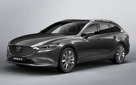 Mazda6 Tourer 2018 - wagon mới lộ diện trước thềm ra mắt