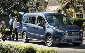Ford nâng cấp Transit Connect Wagon 2019, đối đầu Sienna, Odyssey