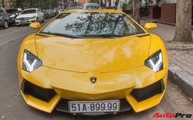Lamborghini Aventador biển Sài Gòn dạo chơi tại Hà Nội chuẩn bị Car & Passion 2018