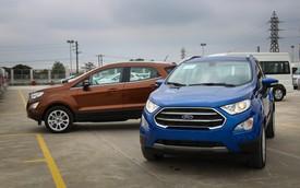 Ford EcoSport 2018 giá cao nhất 690 triệu - thách thức nặng nề lên Chevrolet Trax