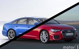 Audi A6 2019 đã thay đổi như thế nào so với trước đây?