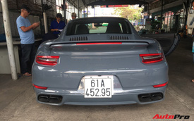 Đại gia Bình Dương tậu Porsche 911 Turbo S trị giá hơn 15 tỷ đồng