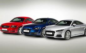 Audi TT: 20 năm của thiết kế đi trước thời đại