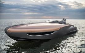 """Lexus """"chạy đua"""" với các đại gia xe sang Đức bằng du thuyền thể thao"""
