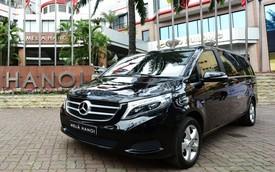 Khách sạn Melia Hà Nội đầu tư thêm xe sang Mercedes-Benz phục vụ du khách