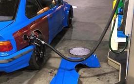 Chịu chơi BMW độ, chủ chiếc xe này phải tháo bodykit mỗi lần đổ xăng