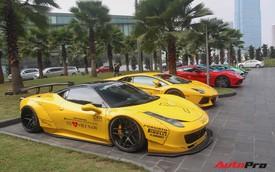 Dàn siêu xe Sài Gòn đã có mặt tại Hà Nội chuẩn bị đi Car & Passion 2018
