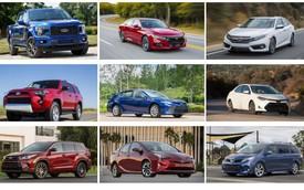 10 xe bền nhất sau 320.000km: Toyota Camry xếp ngôi đầu