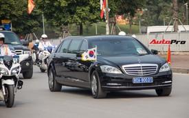 Cận cảnh dàn xe hùng hậu đón Tổng thống Hàn Quốc đến thăm Việt Nam