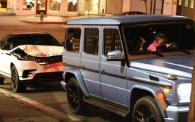 Mercedes-AMG G63 của ca sĩ Justin Bieber bị Range Rover Velar đâm từ phía sau