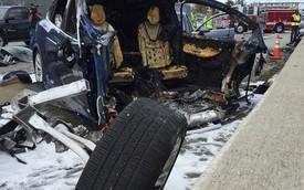 Xe điện Tesla lại gặp tai nạn khiến tài xế tử vong, lần này là Tesla Model X