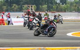 Honda Việt Nam khởi động giải đua mô tô cúp vô địch quốc gia 2018