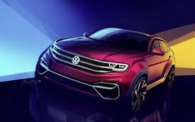 SUV 5 chỗ mới của Volkswagen nhá hàng lần cuối trước khi ra mắt
