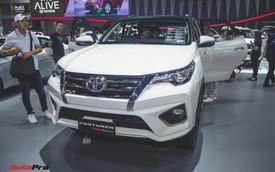 Chi tiết Toyota Fortuner TRD Sportivo 2018 vừa ra mắt