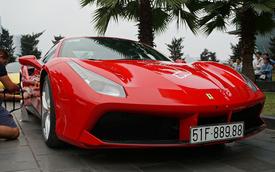 Siêu xe Ferrari 488 GTB của ca sĩ Tuấn Hưng hoàn thiện bước chăm sóc cuối để gia nhập hành trình siêu xe