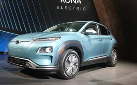 Hyundai Kona động cơ điện: Sạc một lần, chạy hơn 400 km