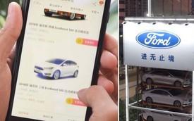 Alibaba bắt tay Ford ra mắt máy bán ô tô tự động, hoàn tất thủ tục mua bán chỉ trong 10 phút