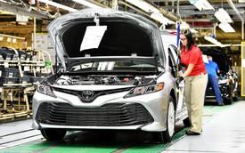 Toyota triệu hồi Camry vì lỗi không tưởng