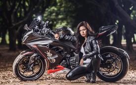 Nữ biker 8X chạy xuyên Việt trên Kawasaki Ninja 300: Đi để thử thách bản thân