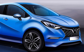 Chiêm ngưỡng trọn bộ 36 thiết kế xe cỡ nhỏ vừa công bố của VINFAST