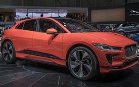 """Ảnh thực tế I-Pace: """"Chiến binh"""" đầu tiên của Jaguar trên thị trường xe điện"""