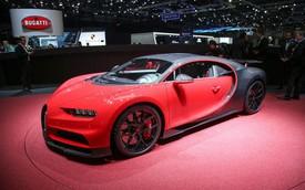 Bugatti Chiron thêm phiên bản mới: Giảm trọng lượng, thay giảm xóc và tút tát thiết kế