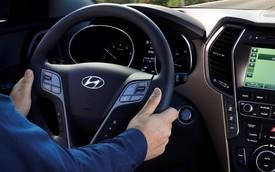 Vô-lăng Hyundai Santa Fe 2018 có thể bị gãy trong quá trình sử dụng
