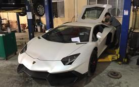 Lamborghini Aventador độ bodykit bản đặc biệt bất ngờ xuất hiện tại Hà Nội