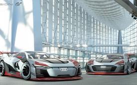 Audi e-tron Vision GT - Siêu xe 826 mã lực từ game bước ra đời thực