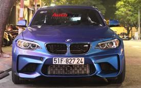 Cường Đô-la cầm lái BMW M2 mới tậu đưa Đàm Thu Trang đi dạo phố, ăn đêm