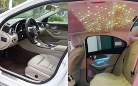 Mercedes-Benz C250 Exclusive 2015 độ trần sao kiểu Rolls-Royce được bán lại giá hơn 1,2 tỷ đồng