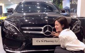 Ca sỹ Phương Ly tậu Mercedes-Benz C300 AMG gần 2 tỷ đồng